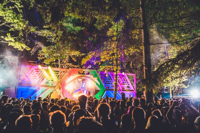 4-days of electronic extravaganza in the woods